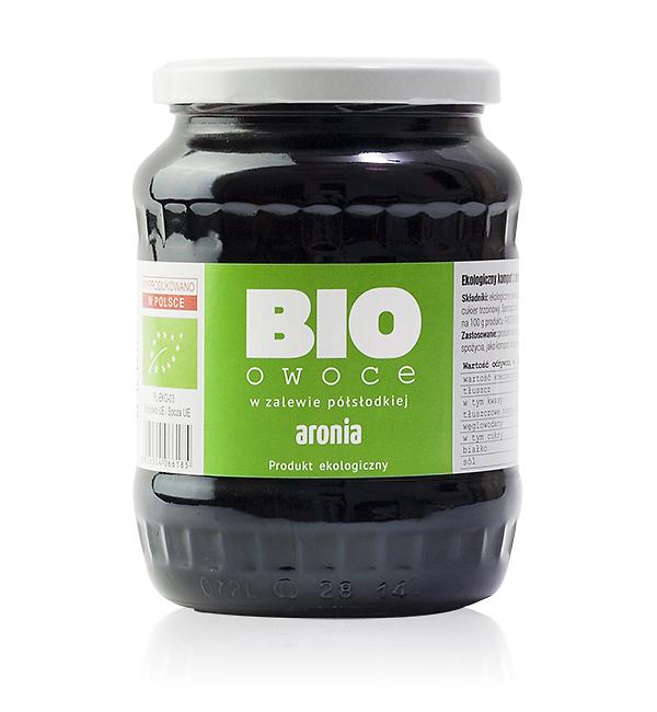 Aronia - bio owoce w zalewie