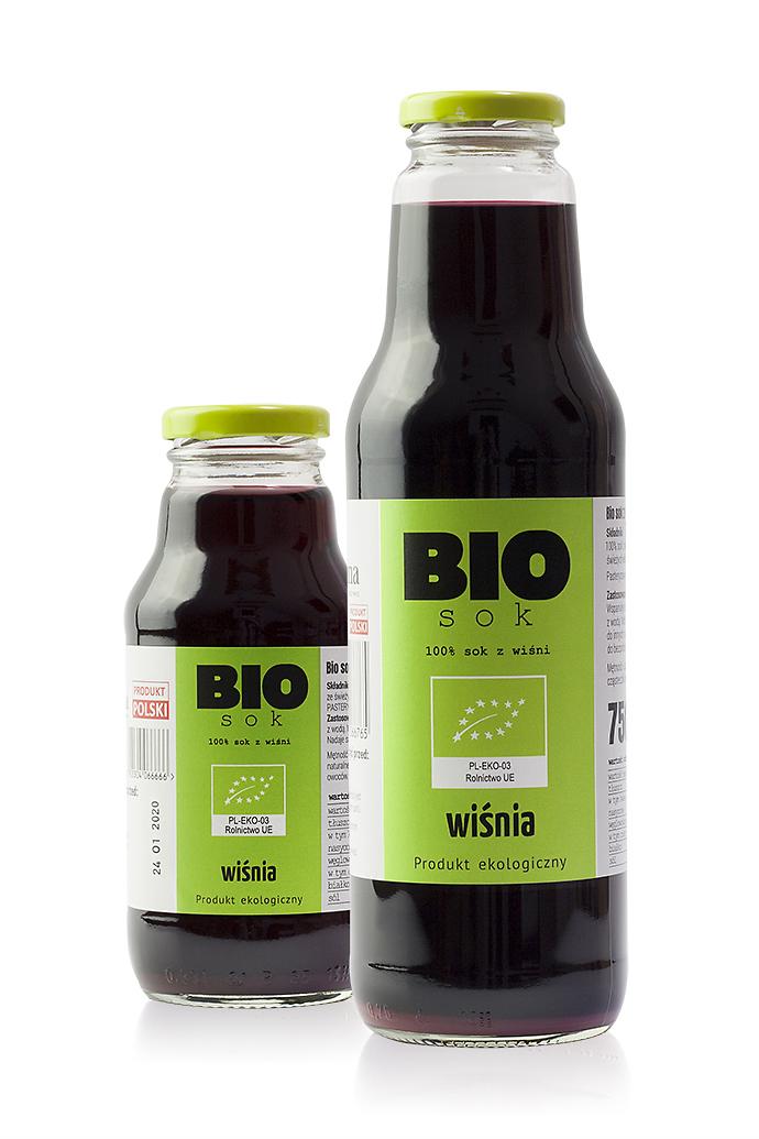 Bio sok z wiśni – 100% wiśnia
