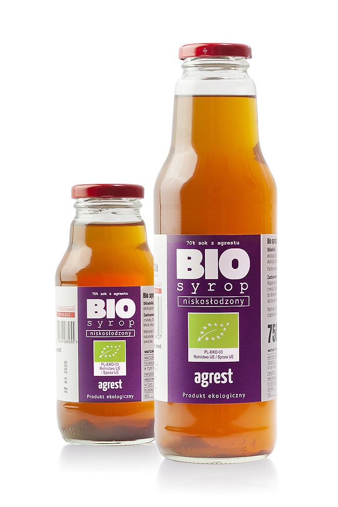 Bio syrop - agrest