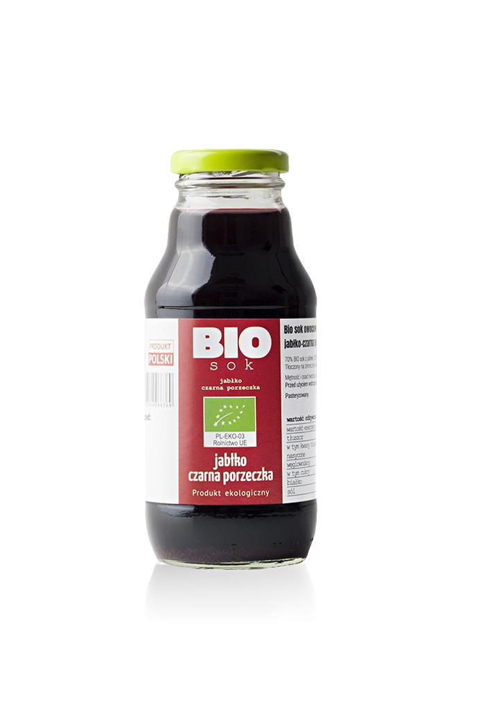 sok owocowy jablko-czarna porzeczka 330 ml