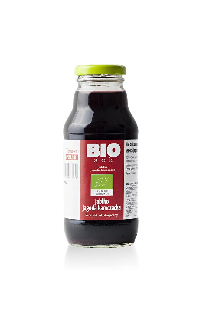 sok owocowy jablko-jagoda kamczacka 330 ml